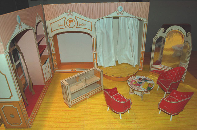 Barbie S Fashion Shop 1963 Connecting You With Your